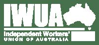 IWUA Logo White